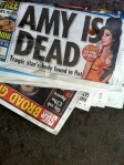 AMY IS DEAD, BrewerStreet