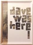 """cartoon or dave was here!"", 2014. tipp-ex on found Da Vinci cartoon, 2015 (privatecollection)"